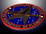3D Star Trek Logo by Mackingster