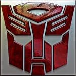 AutoBot 3d logo by Mackingster
