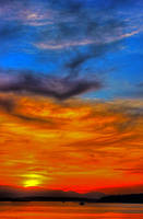 Sky on fire by Mackingster
