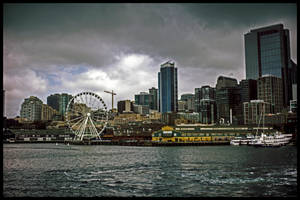 Seattle Weel retro by Mackingster
