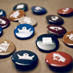 Detroit Opera House Buttons. by paperairplane