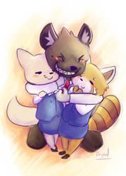 friendly_hug by axaeldraw