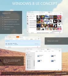Windows 8 Concept Explorer 2.6 by ALEX3ME