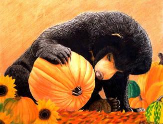 Bearly Autumn by Kstar2105