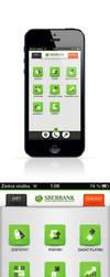 Sberbank - iPhone app by DZerWebdesign