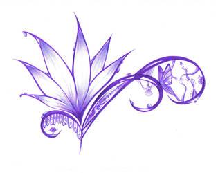 March - Violet Spring by thepurplemonster