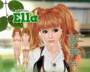 Ella cream theme poster by freakyzzang