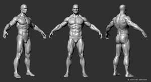 Male Figure by mabdelfatah