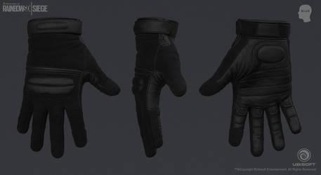 Rainbow Six Siege Cinematic SWAT - Gloves by mabdelfatah