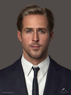 Ryan Gosling 3D Model WIP by mabdelfatah