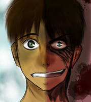The two sides of Eren Jaeger by nika-chann