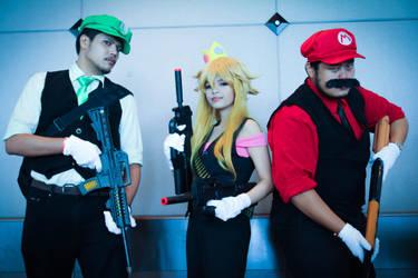 Team Mario Bros by FuuriZero