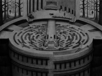 The Maze by Greyfell-Fine-Art
