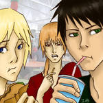 RRB: Lunch by erica-kun