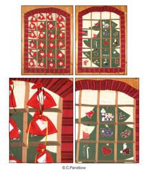 Advent calendar by Fabric-ant