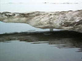 Beach Ice melting 2 by Arctic-Stock