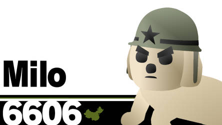 6606: Milo (The only dog) by TophatBomberman