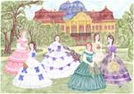 Ladies in the park - Winterhalter by maya40