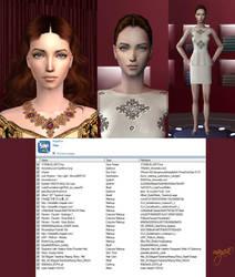 Female Sim model by maya40