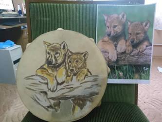 Wolf puppies by maya40
