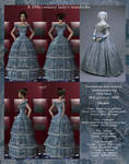 A 19th-century lady wardrobe by maya40