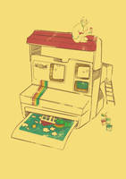Polaroid Childhood by saveGOD