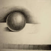 Ball Shading Practice (Pencil) by skyrore1999