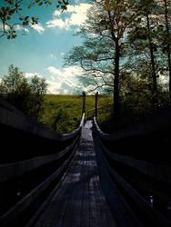 bridge into the summer by BrokenLens