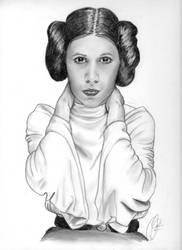 Princess Leia by patricemarie