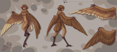Harpy design by Domayv