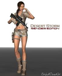 Desert Storm Render by bstylez