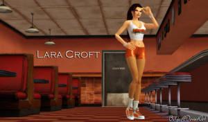 Lara Croft Hooters by bstylez
