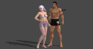 How to create new hair style for DOA5 models by bstylez