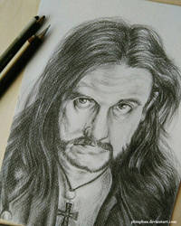 Lemmy Kilmister by PhinPhan