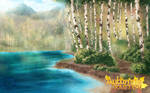 Birch Tree Riverside by SKY-Morishita