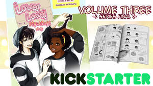 Love! Love! Fighting! Vol. 3 Kickstarter by SKY-Morishita