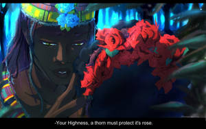 The Rose Queen's Knight by SKY-Morishita