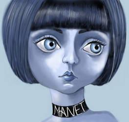 im BLUE by manet