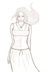 Wind in hair by Ulula