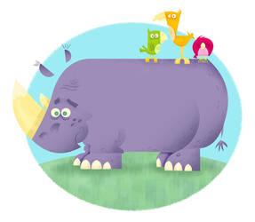 Rhino by frankpeak