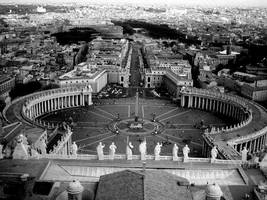 rome from above by heldenzeitlerin