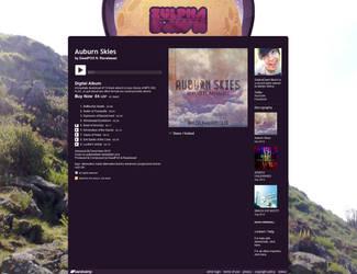 ZulphaDawn Music - 2013 Layout by ZulphaDawn