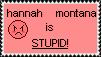 anti hannah montana stamp by sholop