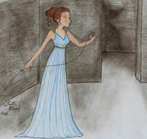 Ariadne and the Labyrinth by talita-rj