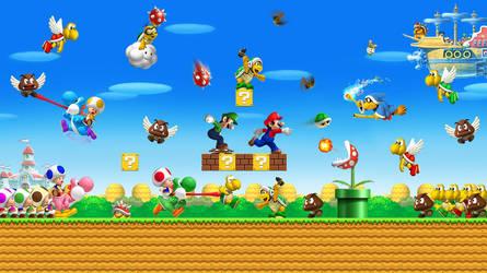 Super Mario Bros. World by Lwiis64