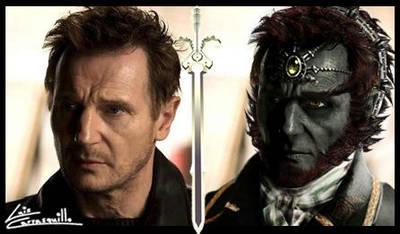 Liam Neeson as Ganondorf by Lwiis64