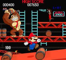 Donkey Kong Arcade by Lwiis64