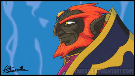 Ganondorf from the Wind Waker by Lwiis64