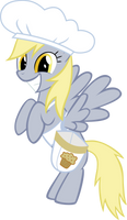 Chef Derpy by L1c