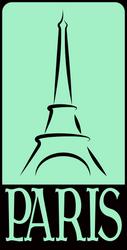 Paris - sticker by mpihlamo